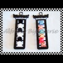 Broches chicos de nylon x6